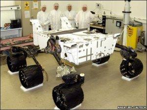 robot mars